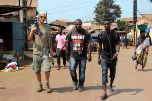 Shooting #3 - Guinea, Conakry, Hafia. 04/2014